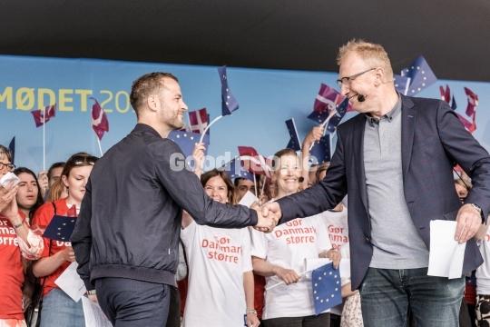 Morten Østergaard og Reimer Bo Christensen på Hovedscenen