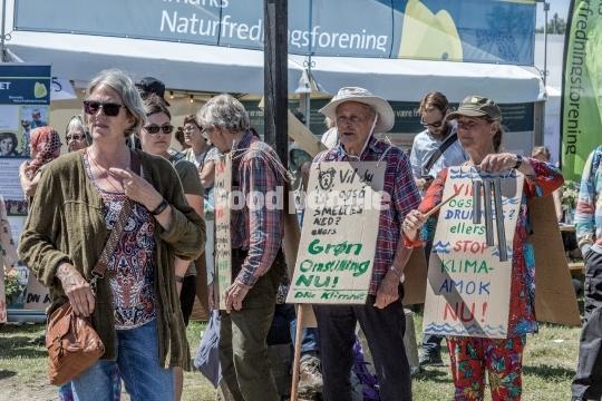 Folkemødegæster kæmper for grøn energi