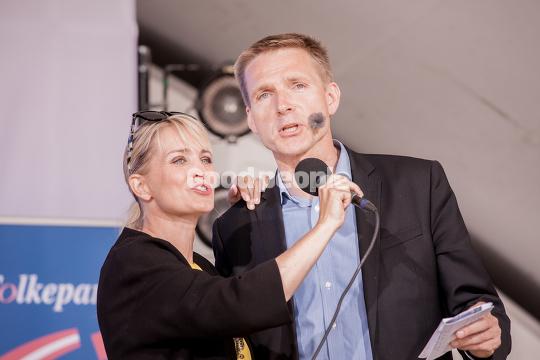 Kristian Thulesen Dahl og Annette Heick
