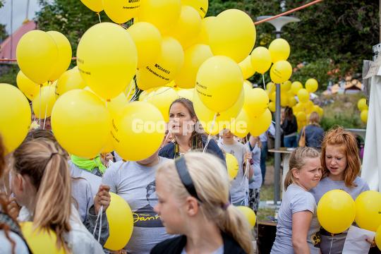 Gule balloner