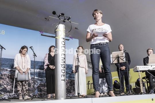 Winni Grosbøll på Folkemødet 2018