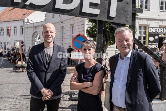 Mads Holm, Winni Grosbøll og  Michael Valentin