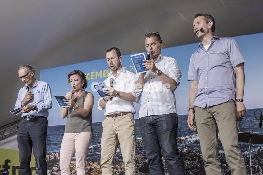 Opvarmning til Lars Løkke Rasmussens partiledertale