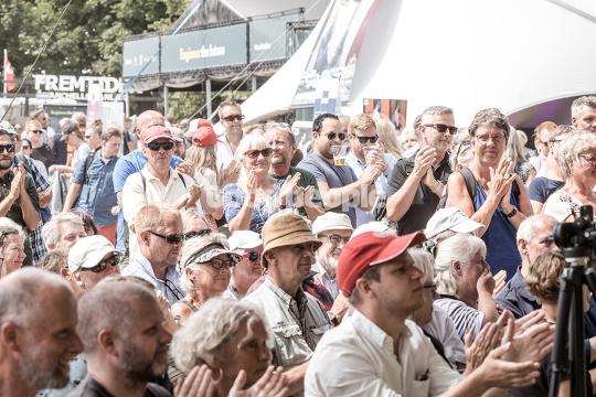 Publikum til Pernille Skippers partiledertale