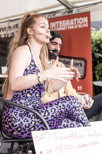 Kvindeligt Talt i Ekstra Bladets telt