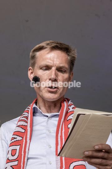 Kristian Thulesen Dahl til partiledertale