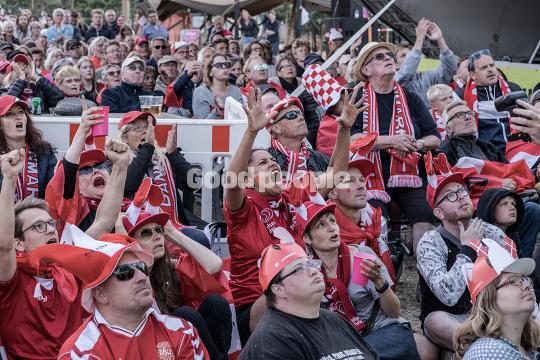 VM-fodbold: Danmark - Peru på storskærm