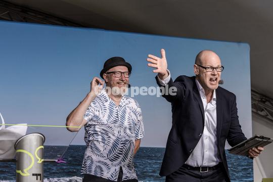 Andreas Bo og Reimer Bo Christensen på hovedscenen