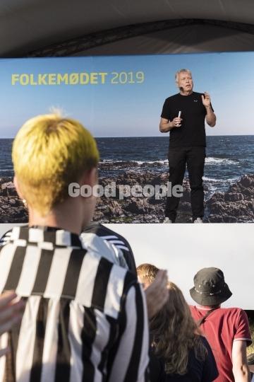 Partiledertale fra Uffe Elbæk, Alternativet