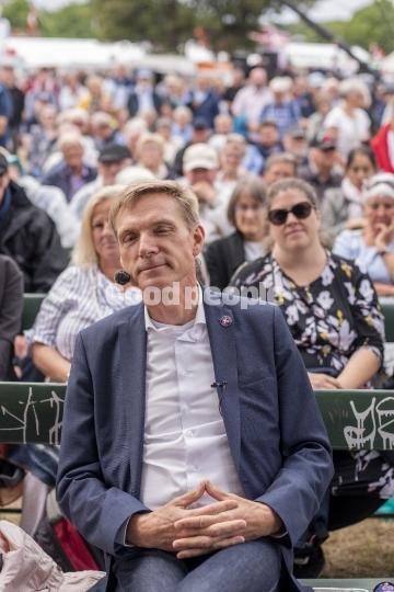 Kristian Thulesen Dahl ved hovedscenen