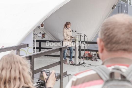 Ellen Trane Nørby på scenen