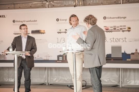 Anders Agger på scenen