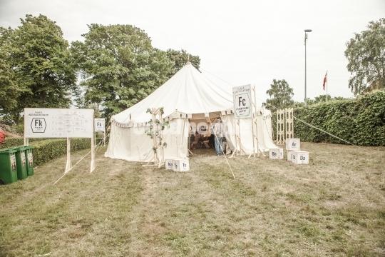 Folkets Kulturlaboratorium telt