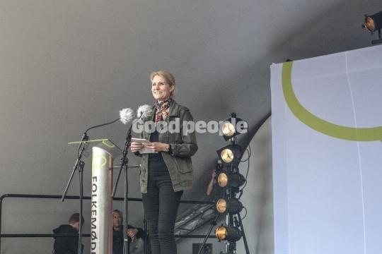 Helle Thorning-Schmidt holder tale