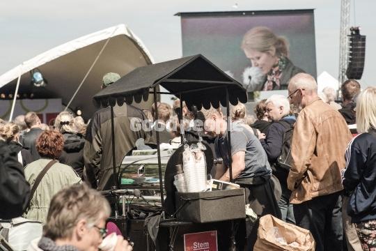 Kaffe til Helle Thorning-Schmidt tale