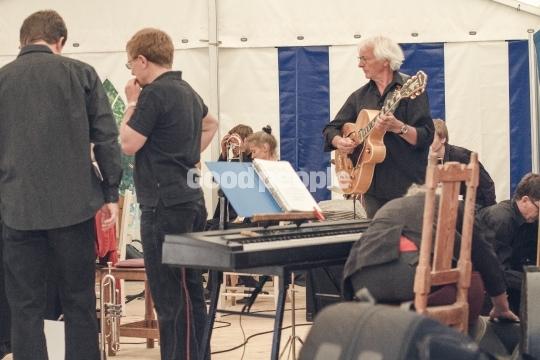 Musik på folkemødet