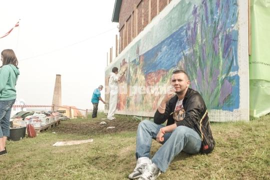 Maleri på folkemødet