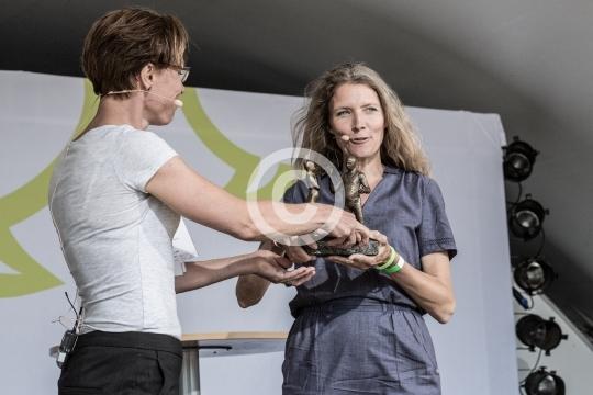 Winni Grosbøll og Anne Thomas