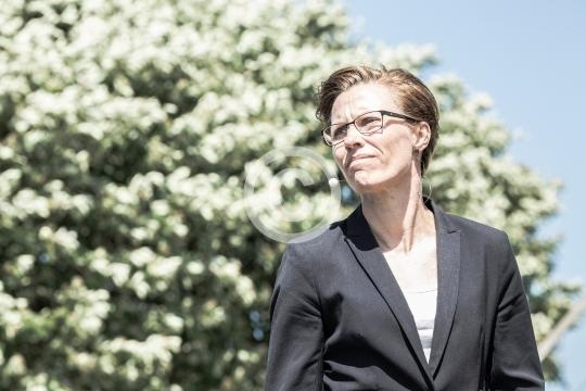Winni Grosbøll ved hovedscenen