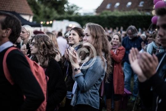 Publikum ved Rosengade Kunst og Kulture live