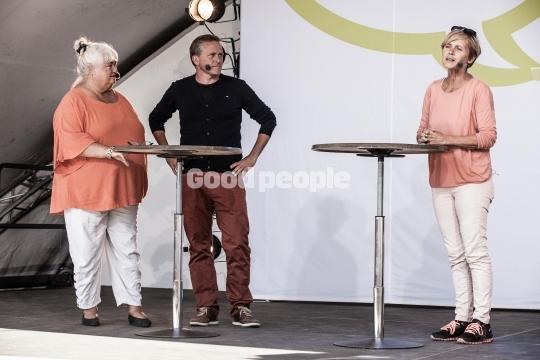 Mette Bock, Thyra Frank og Anders Samuelsen