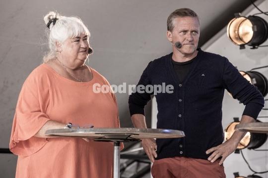 Thyra Frank og Anders Samuelsen